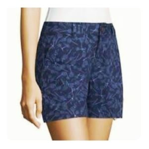 a.n.a Navy Blue Willow Twill Shorts